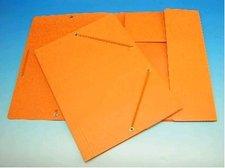 Deska A4 s gumou prešpán oranžová