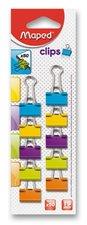 Vázací klipy barevné MAPED, 19 mm