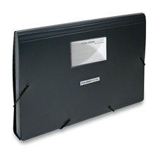 Foldermate Style Plus - aktovka s 13 kapsami černá