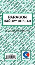 Paragon - daňový doklad