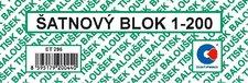Šatnové bloky 1 - 200 čísel