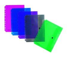 Foldermate Pop Gear - zakládací spisovka s drukem - fialová