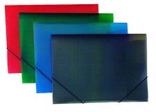Foldermate Color Office - 3chlopňové polypropylenové desky - modré