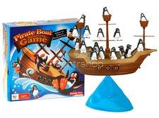 Pirátská loď s tučńáky