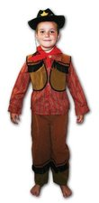 Kostým na karneval Kovboj