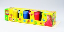 Dětské barvy pro malování prsty,4x150m