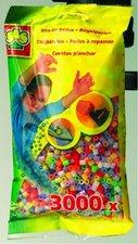 Zažehlovací korálky, perleť.barvy 3000