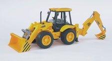 Bruder - Traktor JCB - čelní nakladač + bagr