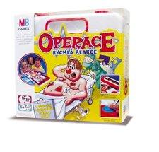 Společenská hra - OPERACE - PLASTOVÝ  KUFŔÍK CZ