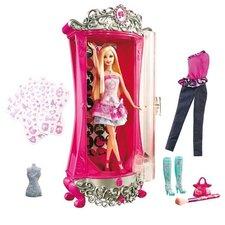 Mattel - Barbie - Kouzelná šatna s panenkou