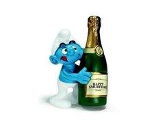 Schleich Šmoula se šampaňským