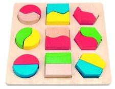 Woody Desti�ka s geometrick�mi tvary