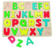 "Woody Puzzle na desce ""Abeceda"""
