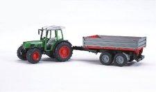 Bruder - Traktor FENDT Farmer + sklápěcí valník NOVINKA