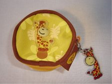 Babaloo pouzdro na mince - kolekce žirafka