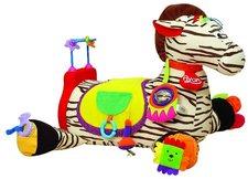 K�s Kids - Velk� zebra RYAN s 28 funkcemi z�bavy