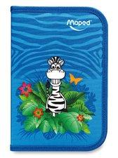 Penál Maped Tatoo -  vybavený, motiv Jungle