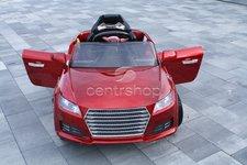 Dimix Elektrické sportovní auto CY815 červené LAKOVANÉ -  2 motory, R/C 2,4Ghz, Eva kola