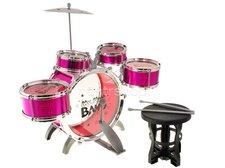 Dětské bicí růžové