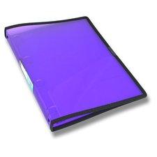 Foldermate Pop Gear - transparentní 4kroužkový pořadač - fialový