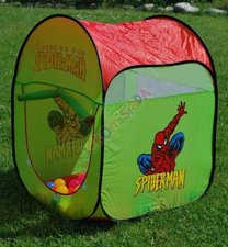 Stan s míčky Spiderman
