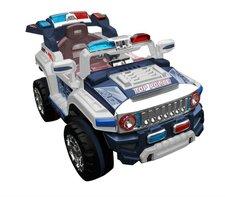 Elektrické policejní auto  Hummer s RC - modré