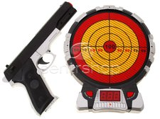 Laserová pistole s terčem