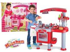 Dětská kuchyňka červená