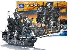 Stavebnice pirátská loď - Černá perla 1184 dílků