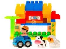 Kostky farma v plastovém boxu 40 ks