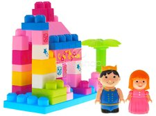 Kostky Princess v plastovém boxu 40 ks