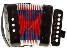 Harmonika Tahací černá