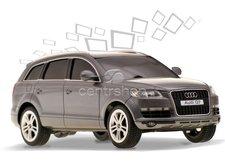 RC model Audi Q7 stříbrné 1:18