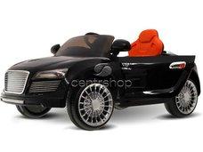 Dětské elektrické auto kabriolet A-R8, 2 motory - černé