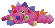 K´s Kids - Růžová dinosauřice se 60 míčky