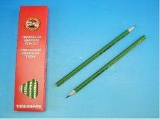Tužka trojhranná  č.3 zelená1802