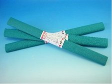Krepový papír 50 x 250 zelenomodrý