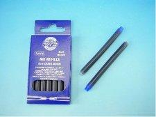 Bombičky 7ks dlouhé - modrý inkoust