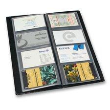 Karton P+P Xepter - kvalitní vizitkář z PVC, černá