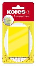 Samolepící bloček transparentní KORES 75X50 48186