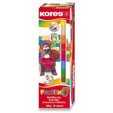 Modelína Kores - 10 barev, v krabičce