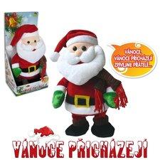 Santa Claus, chodí, tancuje