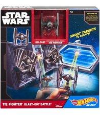 Hot Wheels Star Wars hrací set s hvězdnou lodí