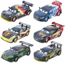 Mattel Cars carbon racers auto