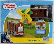 Stavebnice Mega Bloks Mašinka Toby 8 dílků