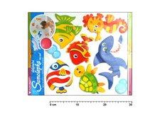 Samolepící dekorace 566 ryby voděodolná 31x30cm