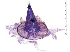 Klobouk 880228 čarodějnický s třásněmi