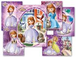 Pohlednice sr Y011 F Disney (Sofia the First) UV