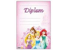 Dětský diplom A4 MFP DIP04-Y03 Disney (Princess)