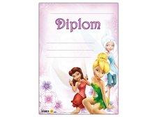 Dětský diplom A4 MFP DIP04-Y04 Disney (Fairies)